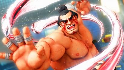 Street Fighter V: Arcade Edition - E. Honda-pelikuvatraileri