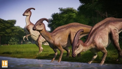 Jurassic World Evolution: Return to Jurassic Park - julkistustraileri