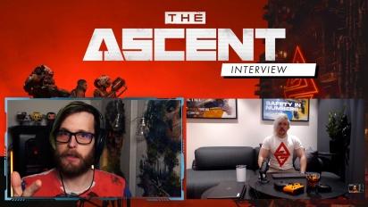 The Ascent - Arcade Berg haastattelussa