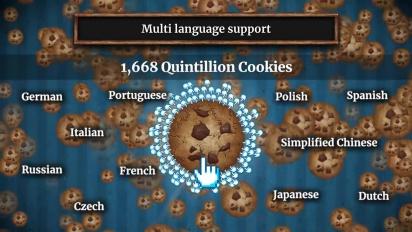 Cookie Clicker - Steam-traileri