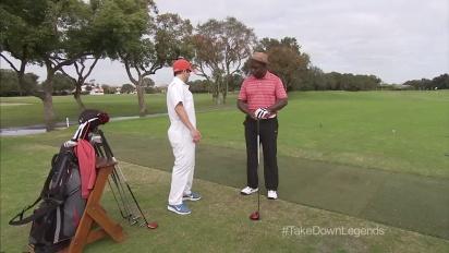 Tiger Woods PGA Tour 14 - Marshall Faulk Is Swinging Like Shaq Trailer