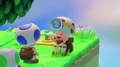 Captain Toad: Treasure Tracker - Get Ready for Adventure
