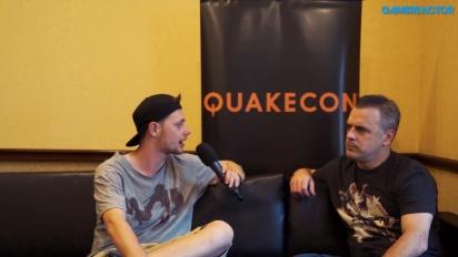 QuakeCon - Pete Hines haastattelussa