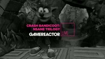 Crash Bandicoot: Nsane Trilogy PC - Livestream-uusinta