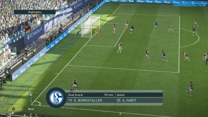 Pro Evolution Soccer 2019 - Full Match Schalke 04 vs Monaco HD-pelikuvaa