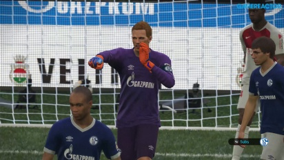 Pro Evolution Soccer 2019 - Full Match Schalke 04 vs Monaco 4K-pelikuvaa