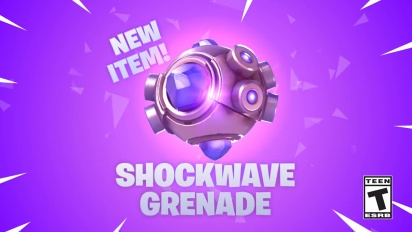 Fortnite - Shockwave Grenade -traileri