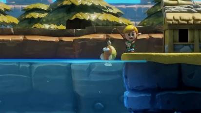 The Legend of Zelda: Link's Awakening - julkaisupäivän traileri