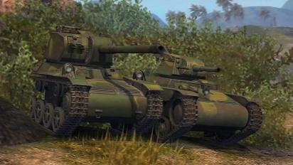 World of Tanks Blitz - Eurooppalainen kehityspuu