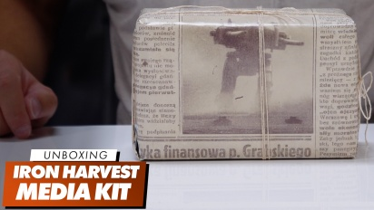 Iron Harvest Media Kit - Unboxing