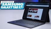 Nopea katsaus - Samsung Galaxy Tab S7+