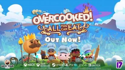 Overcooked: All You Can Eat - julkaisutraileri