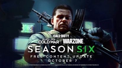 Call of Duty: Black Ops Cold War and Warzone - Season Six Gameplay Traileri