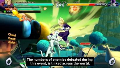 Dragon Ball FighterZ - Party Battle -traileri