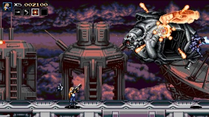 Blazing Chrome - Stage 4-1 -pelikuvaa