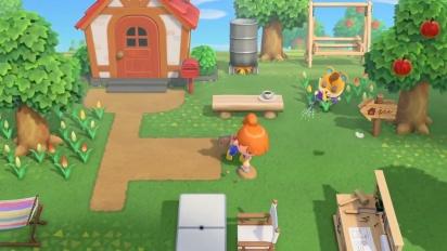 Animal Crossing: New Horizons - pelikuvatraileri