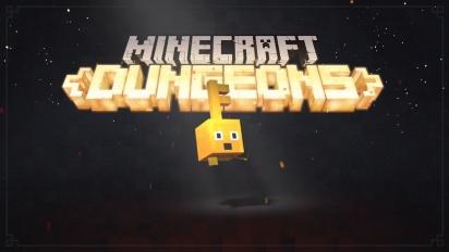 Minecraft Dungeons - julkaisupäivän ilmoitustraileri
