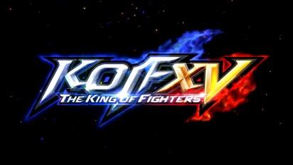 The King of Fighters XV - virallinen traileri (4K)