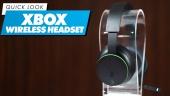 Nopea katsaus - Xbox Wireless Headset