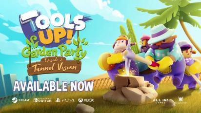 Tools Up! Garden Party - Tunnel Vision - virallinen traileri