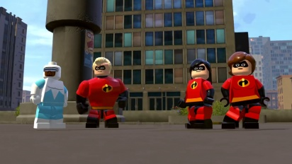 Lego The Incredibles - Crimewaves-pelikuvatraileri