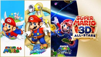 Super Mario 3D All-Stars - julkistustraileri