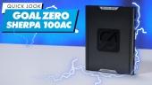 Nopea katsaus - Goal Zero Sherpa 100AC Portable Power Bank