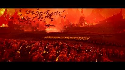 Total War: Warhammer III - 'Enter the World of Khorne' -traileri