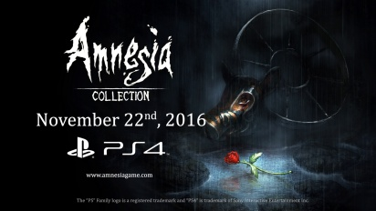 Amnesia: Collection - PS4 Announcement Trailer
