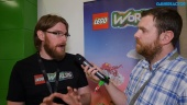 Lego Worlds - Chris Rose haastattelussa