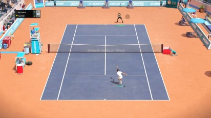 Tennis World Tour - Legends-pelikuvaa