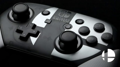 Pro Controller Super Smash Bros. Ultimate Edition - paljastustraileri