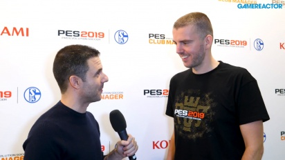 Pro Evolution Soccer 2019 - Lennart Bobzien Launch haastattelussa