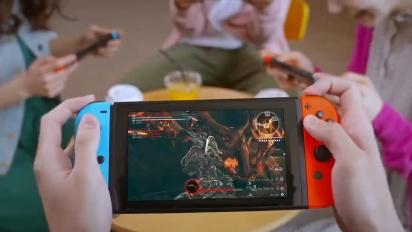 God Eater 3 - Nintendo Switch -julkistustraileri