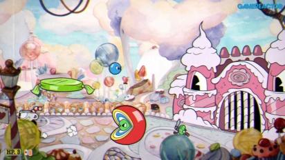 Cuphead - Sugarland Shimmy Nintendo Switch -pelikuvaa