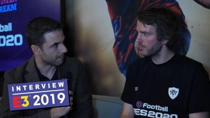 eFootball PES 2020 - Lennart Bobzien haastattelussa