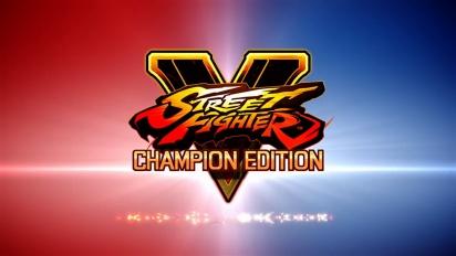 Street Fighter V: Champion Edition - julkistustraileri