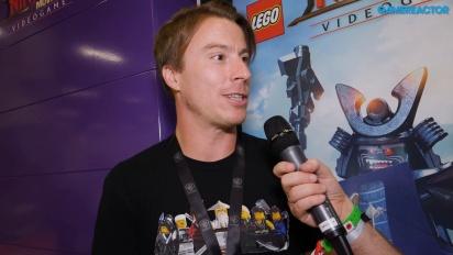 The Lego Ninjago Movie Video Game - Tim Wileman haastattelussa