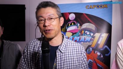 Mega Man 11 - Koji Oda & Kazuhiro Tsuchiya haastattelussa