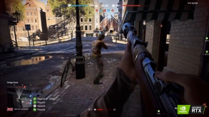 Battlefield V - RTX Rotterdam -pelikuvaa