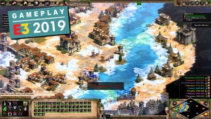 Age of Empires II: Definitive Edition - E3-pelikuvaa