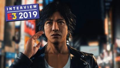 Judgment - Kazuki Hosokawa haastattelussa