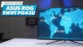 Nopea katsaus - ASUS ROG Swift PG43UQ
