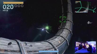 Star Fox Zero - Nintendo Treehouse E3 2015 Gameplay III