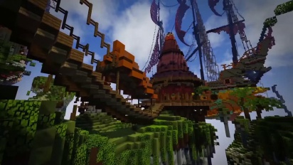 Pan Adventures in Minecraft -traileri