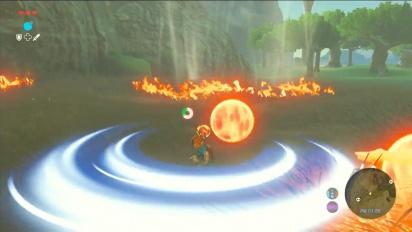 The Legend of Zelda: Breath of the Wild - pelikuvaa aseista