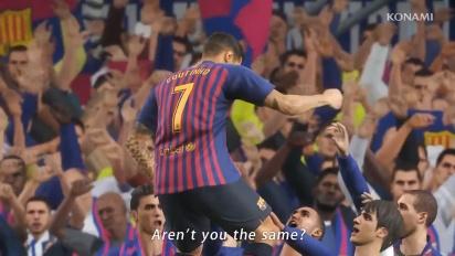 Pro Evolution Soccer 2019 - PES 2019 -julkaisutraileri