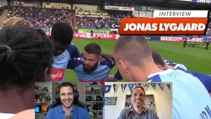 SønderjyskE Fodbold - Jonas Lygaard haastattelussa