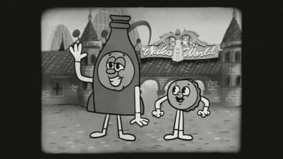 Fallout 4 - Nuka-World - Bottle & Cappy Theme Song -traileri