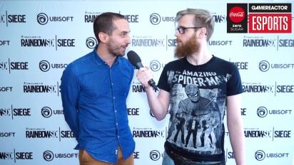 Rainbow Six Pro League Season 3 -finaalit - François-Xavier Dénièle haastattelussa